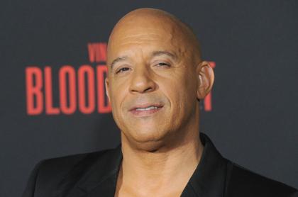 Foto de Vin Diesel a propósito de nota de alopecia, qué es y cómo tratarla.