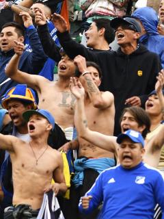 Canción venezolana con la que hinchas de Millonarios festejan en Liga Betplay. Imagen de referencia de los aficionados.