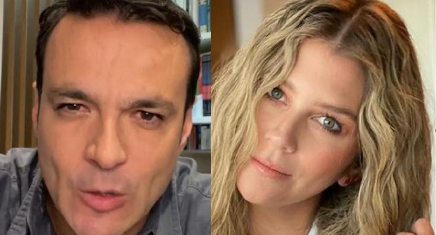 Andrea Guerrero, de Noticias RCN, destapa en diálogo con Juan Diego Alvira (Caracol) un secreto de ESPN que los televidentes no saben.