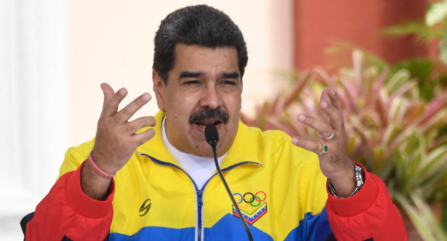 Hijo de Nicolás Maduro aclara la nacionalidad de su padre con supuesta acta. Imagen del líder del régimen chavista.