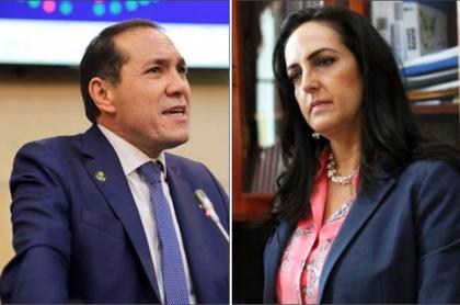 Antonio Sanguino y María Fernanda cabal