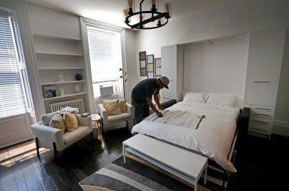 Apartamento ilustra nota sobre prohibición que habría para alquilar inmuebles a turistas, al estilo Airbnb