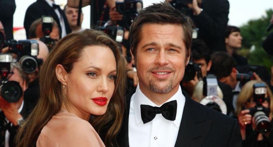 Angelina Jolie, actriz; Brad Pitt; actor, en el estreno de 'Bastardos sin gloria', en el 2009.