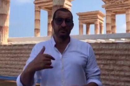 'Flaco' Solórzano, a quien el restaurante en Santa Marta que expuso le respondió