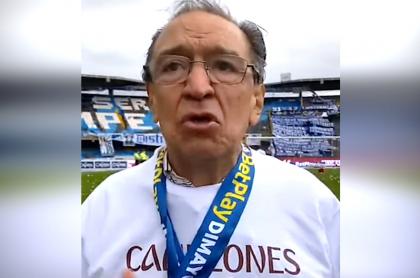 """Deportes Tolima busca """"castigo ejemplar"""" de 2 años para el América de Cali. Imagen de Gabriel Camargo, presidente del elenco 'pijao'."""