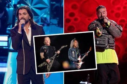 Juanes, J Balvin y Metallica, juntos en tributo.