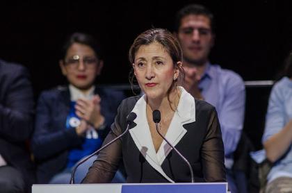 La excandidata presidencial Íngrid Betancourt.