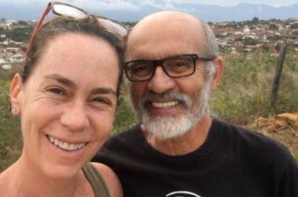 Jairo Camargo y su esposa Patricia Tamayo, quien publicó fotos en topless en su Instagram