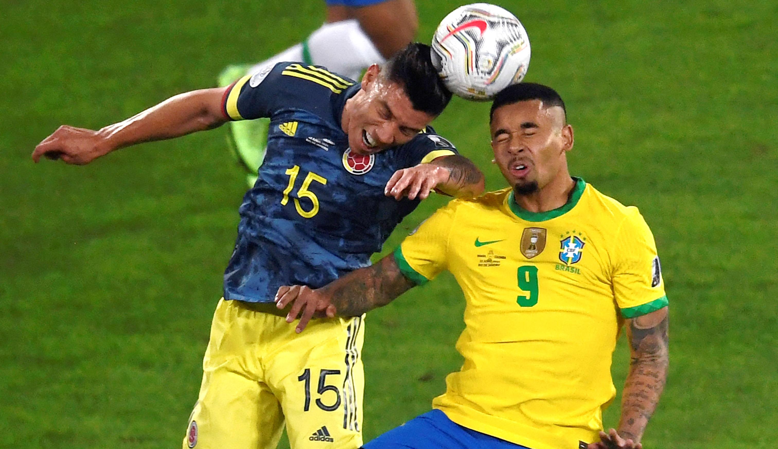 Polémico gol le saca el triunfo a Colombia ante Brasil en Copa América
