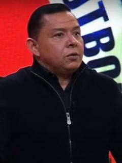 Iván Rene Valenciano, quien reprocha a jugadores de Colombia por gol de Brasil