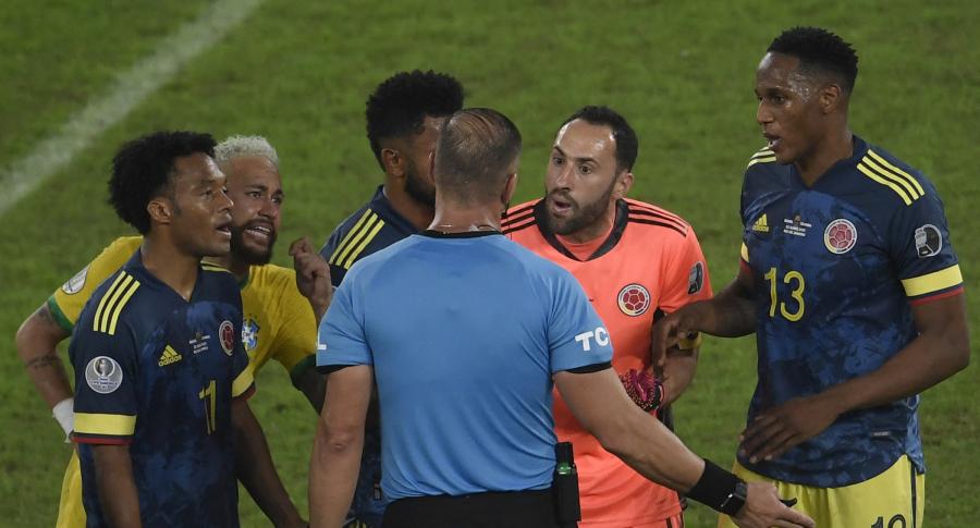 Piden anular el partido de Colombia vs. Brasil, en la Copa América 2021.