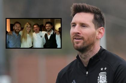 Foto de Lionel Messi junto a sus hermanos Matías, Rodrigo María, a propósito de quiénes son y a qué se dedican