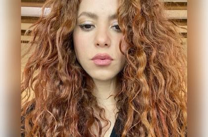 Foto de Shakira, a propósito de que le echó culpa a su suegra de 'look' con pelo corto