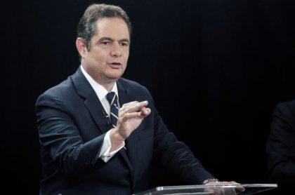 Germán Vargas Lleras, del que hay versiones encontradas sobre su candidatura presidencial