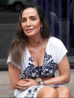 Luly Bossa, quien revela que hace años no tiene relaciones íntimas y cuenta por qué