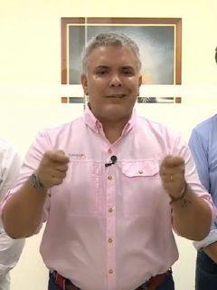 Iván Duque habla de ataque a helicóptero presidencial en Cúcuta