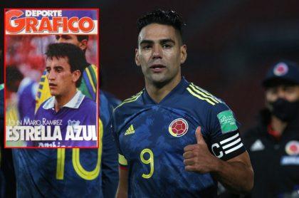 Radamel Falcao García, quien lamenta muerte de Jhon Mario Ramírez lo recuerda como una estrella azul