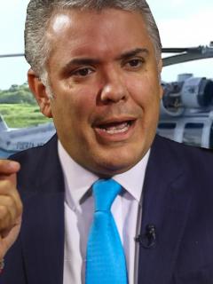 Iván Duque sufrió un atentado este viernes cuando viajaba en helicóptero a Cúcuta.