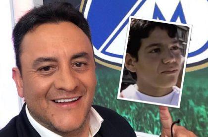 Mensaje de Falcao García a Jhon Mario Ramírez cuando tenía 11 años y soñaba jugar en el equipo profesional de Millonarios.