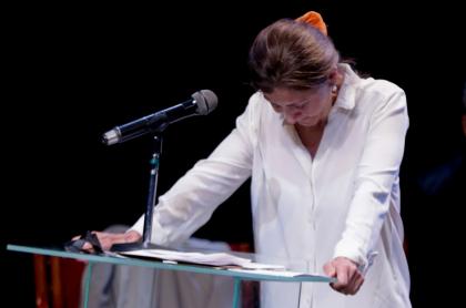 Íngrid Betancourt, exsecuestrada.