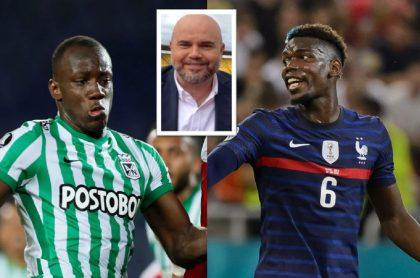 Andrés Marocco compara a Paul Pogba con Baldomero Perlaza (Atlético Nacional) luego de golazo  con Francia en Eurocopa.