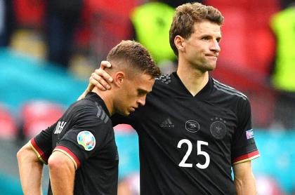 Eurocopa: Alemania, Francia y Portugal eliminados; eran del grupo de la muerte. Imagen de Alemania.