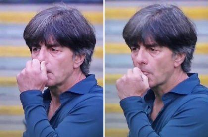 Joachim Low, técnico de Alemania que protagonizó cochino gesto al ser eliminado de la Eurocopa contra Inglaterra