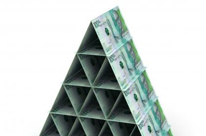 Imagen de billetes colombianos, a propósito de cuál es el tope máximo de ahorros de Daviplata
