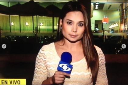 Periodista Marcela Ulloa salió de clínica; su bebé sigue hospitalizada