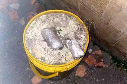 Funcionario de Personería de Bogotá casi pisa granada artesanal, en Suba