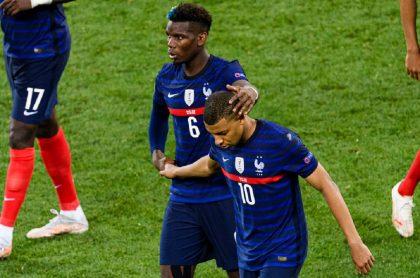 Imagen de la Selección de Francia que ilustra nota; Eurocopa: familias de jugadores se pelearon tras el Francia vs. Suiza