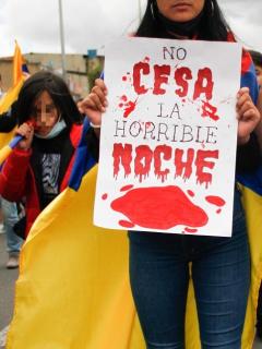 Organizaciones dicen que hay 327 desaparecidos en Colombia por paro nacional