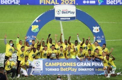 El Atlético Huila quedó campeón de la B y ascendió de nuevo a la primera división de Colombia.