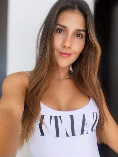 Eva Alejandra Moreno, exreina destituida en Santander por un video que circuló en redes