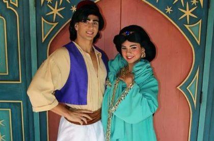 Dare Taylor, quien interpretó a la princesa Jasmín (Aladdín) en el parque temático Magic Kindom de Disney, se convirtió en una estrella de OnlyFans.