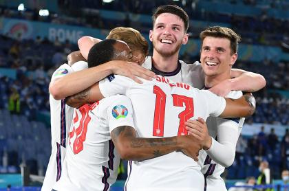 Eurocopa 2021: así se jugarán las semifinales; quién clasificó; Inglaterra pasó. Imagen del cuadro británico.