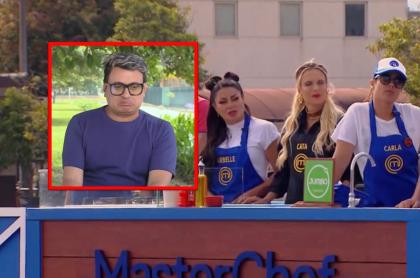 Freddy Beltrán avisa del mal ambiente en Masterchef con Carla Giraldo, Marbelle y Catalina Maya.