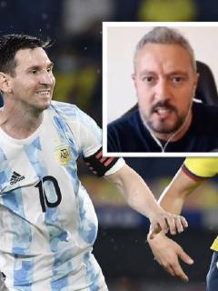 El periodista Pablo Carrozza afirmo que tiene miedo de que la Conmebol perjudique a Argentina en el partido ante Colombia por la Copa América 2021.