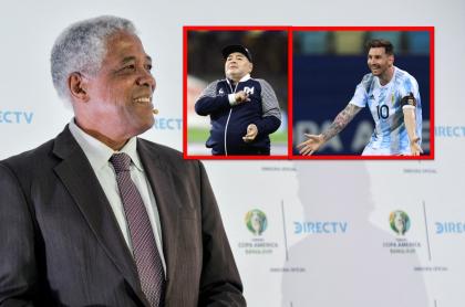 Maturana hace comparación de Messi y Maradona.