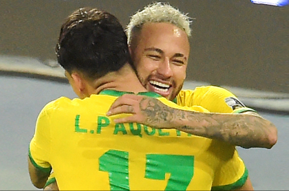 Brasil, a la final de la Copa América 2021 luego de vencer a Perú. Imagen del partido.