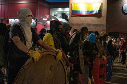 Imagen de protestas que ilustra nota; CIDH dice que se deben aceptar los bloqueos de vías en Colombia