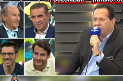 Periodistas españoles se ríen de Javier Fernández por la narración en RCN de los penaltis Colombia vs. Argentina.