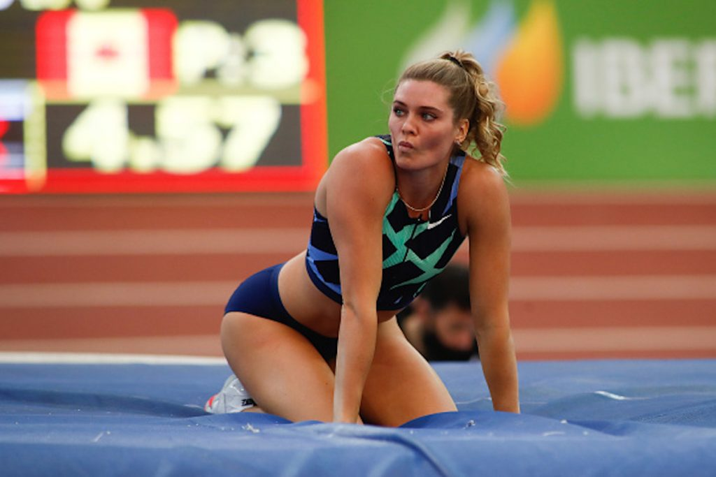 Getty / Alysha Newman, atleta canadiense.