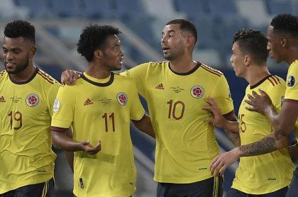 Colombia vs. Perú hoy: alineaciones titulares confirmadas