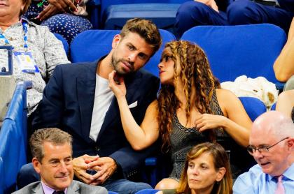 Foto de Gerard Piqué y Shakira, en referencia a nota de los negocios del futbolista.