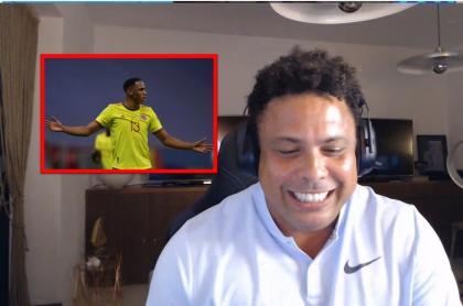 Ronaldo opinó de las palabras de Emiliano Martínez y el baile de Yerry Mina