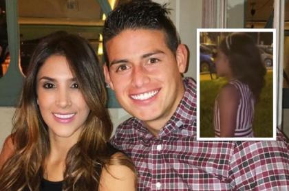 La hija de James Rodríguez y Daniela Ospina, Salomé Rodríguez, hizo pequeño desfile en exclusiva calle de Miami, Estados Unidos.