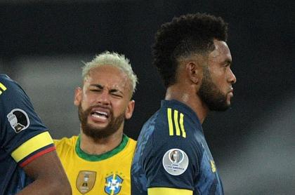 Borja se burla de Neymar luego de que perdiera la final de la Copa América 2021.