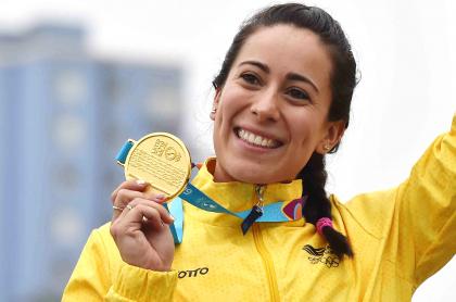 Colombianos que podrían ganar medalla en Juegos OlímpIcos de Tokio. Imagen de Mariana Pajón.