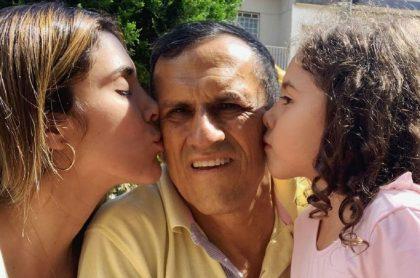 Daniela Ospina aprovechó que se cumplieron dos años de la muerte de su padre para compartir una inédita foto en Instagram.